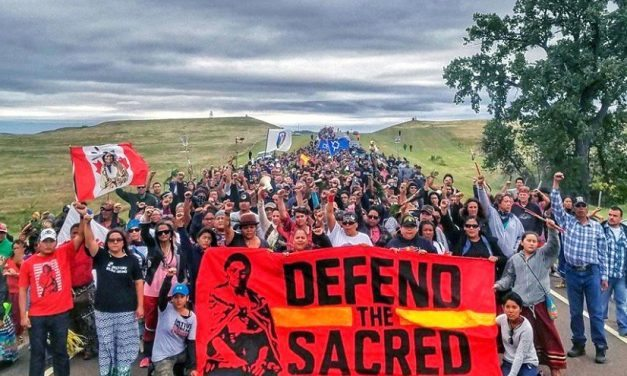 Dakota Access Pipeline, Fighting for Environmental Rights Pipeline over Sacred Native American Land